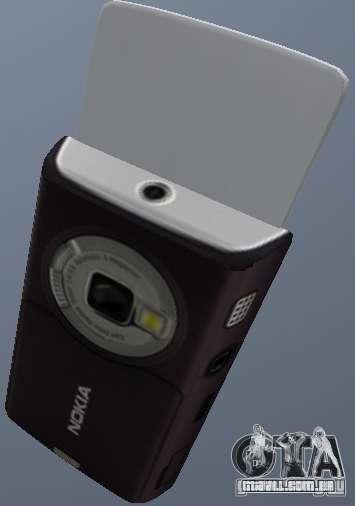 Nokia N95 Mobile para GTA San Andreas segunda tela