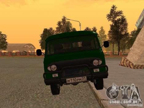 UAZ 39094 para GTA San Andreas vista direita