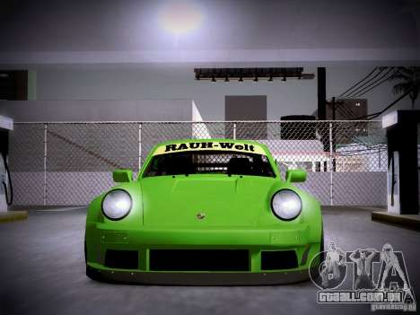 Porsche 911 Turbo RWB Pandora One para vista lateral GTA San Andreas
