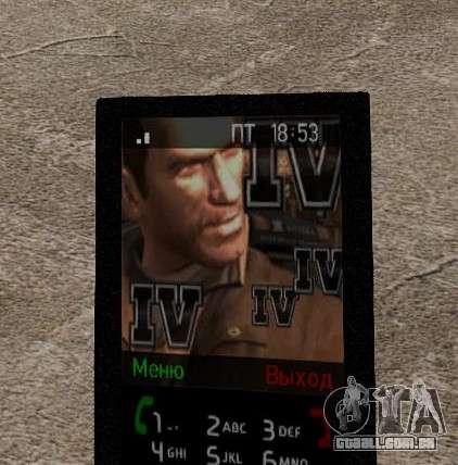 Novos temas para o seu telefone para GTA 4 décimo tela