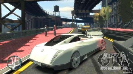Maybach Exelero para GTA 4 traseira esquerda vista