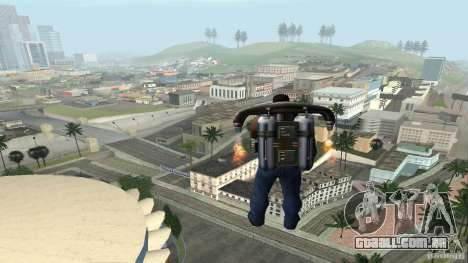 Overdose Effects v1.5 para GTA San Andreas quinto tela