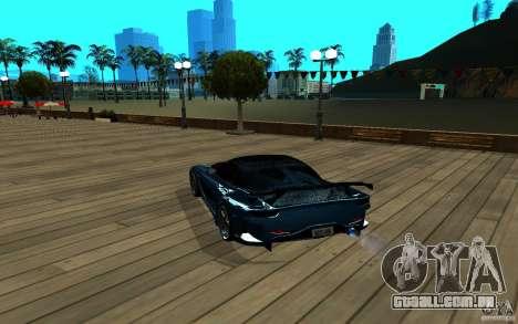 ENB para qualquer computador para GTA San Andreas por diante tela