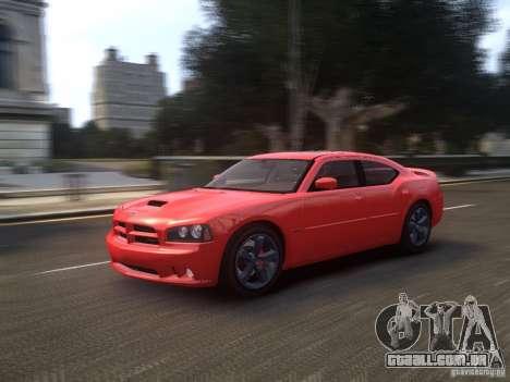 Dodge Charger SRT8 2006 para GTA 4 vista de volta
