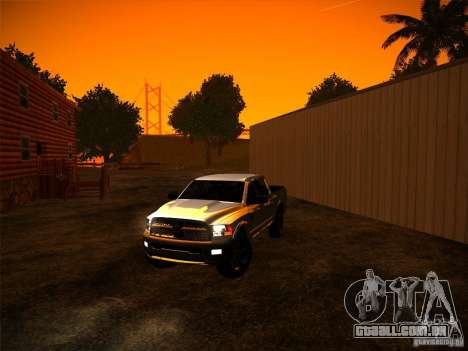 Dodge Ram Heavy Duty 2500 para GTA San Andreas vista direita