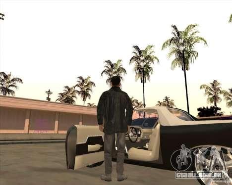 A pele é um membro da máfia para GTA San Andreas terceira tela
