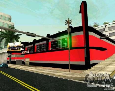 Workshop OVERHAULIN para GTA San Andreas segunda tela