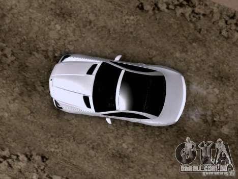 Mercedes-Benz SLK55 AMG 2012 para GTA San Andreas vista inferior