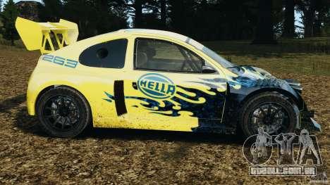 Colin McRae Hella Rallycross para GTA 4 esquerda vista