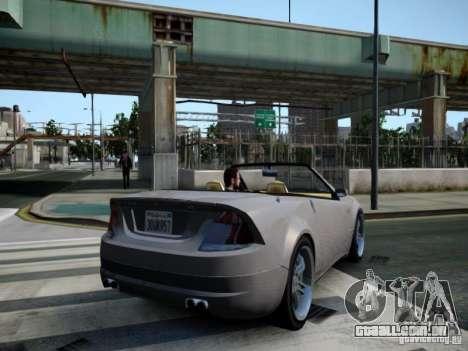 Feltzer BR-12 para GTA 4 traseira esquerda vista