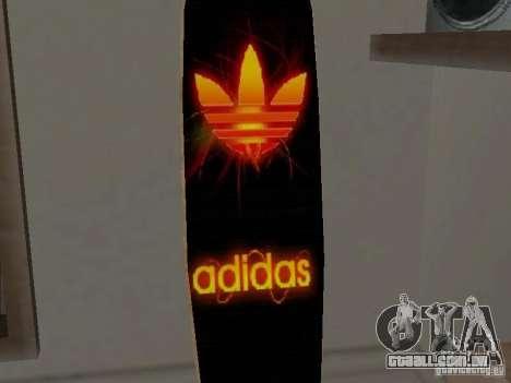 Surf novo da casa de CJ para GTA San Andreas por diante tela