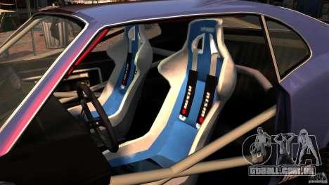 New Sabre GT para GTA 4 vista de volta