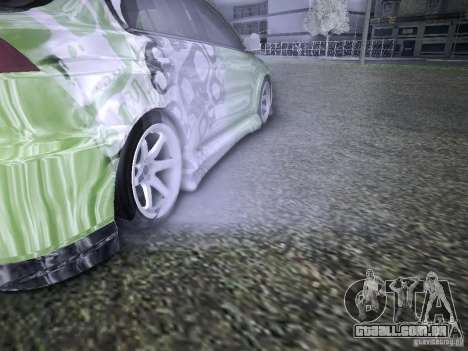 Mitsubishi Lancer Evolution X - Tuning para GTA San Andreas vista superior