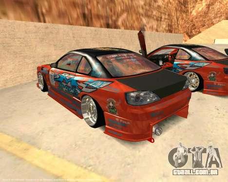 Nissan Silvia S15 Ms Sports para GTA San Andreas esquerda vista