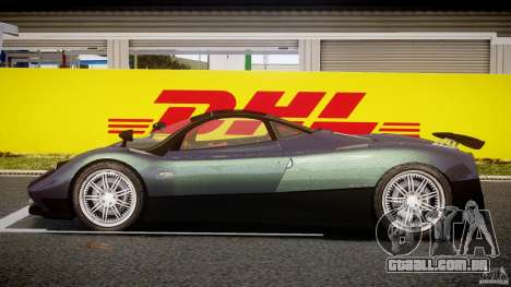Pagani Zonda F para GTA 4 vista interior