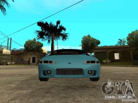 Mitsubishi Eclipse 1998 Need For Speed Carbon para GTA San Andreas vista direita