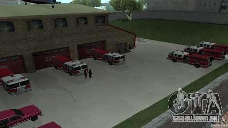 O fogo animado o SF v 3.0 Final para GTA San Andreas quinto tela