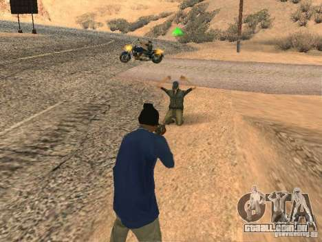 Sistema modificado pedov para GTA San Andreas