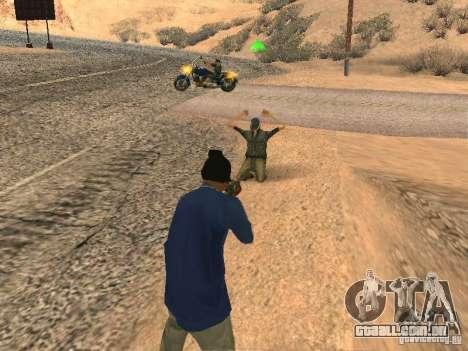 Sistema modificado pedov para GTA San Andreas