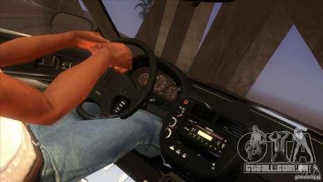 Honda Civic SI para GTA San Andreas interior