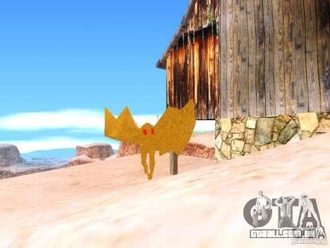 The Mothman para GTA San Andreas segunda tela