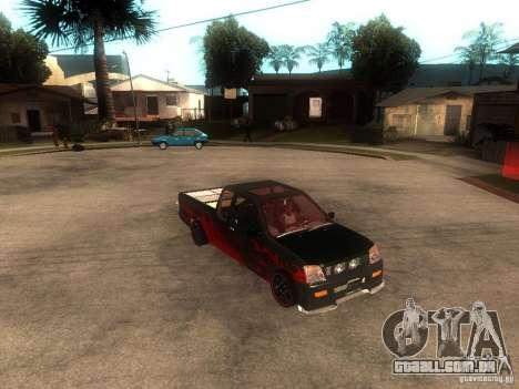 Isuzu D-Max para GTA San Andreas vista direita