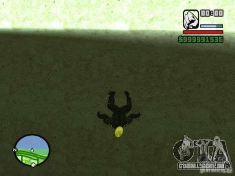 Ghost Ryder Skin para GTA San Andreas terceira tela
