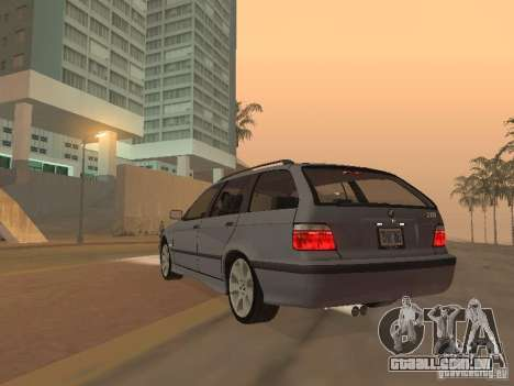 BMW 318 Touring para GTA San Andreas vista traseira