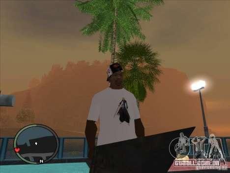 Bleach t-shirt para GTA San Andreas segunda tela