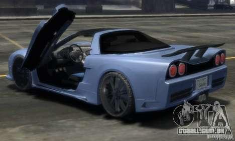 Acura NSX Veilside Fortune v 1.0 para GTA 4 esquerda vista