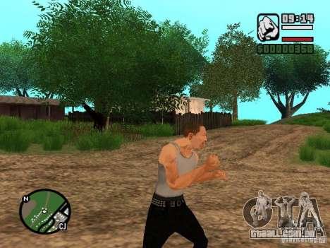 Perfeita realidade para GTA San Andreas terceira tela