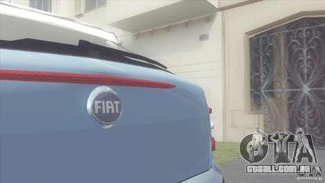 Fiat Brava HGT para GTA San Andreas traseira esquerda vista