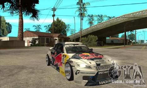 Mazda RX8 NFS Team Mad Mike para GTA San Andreas vista traseira