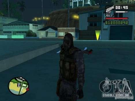Mercenário de perseguidor no novo kombeze para GTA San Andreas segunda tela
