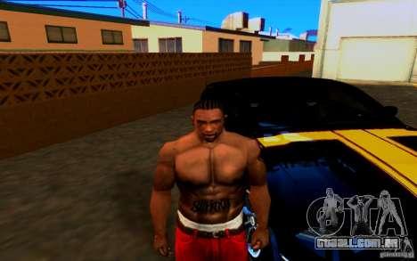 Slipknot tatoo para GTA San Andreas segunda tela