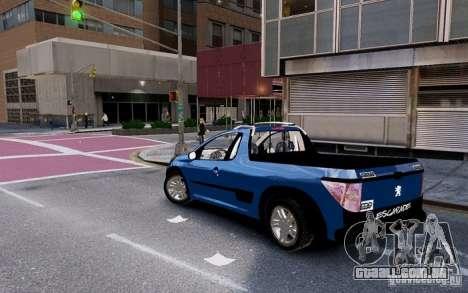 Peugeot Hoggar Escapade para GTA 4 esquerda vista