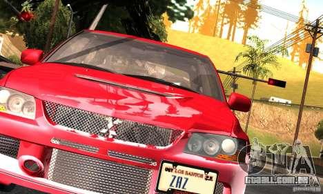 ENBSeries RCM para o PC fraco para GTA San Andreas segunda tela