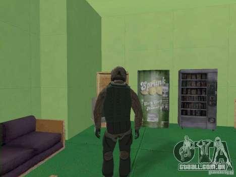 Piloto militar para GTA San Andreas terceira tela