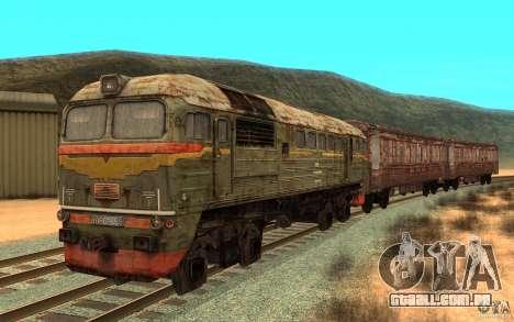 Um trem do jogo STALKER para GTA San Andreas