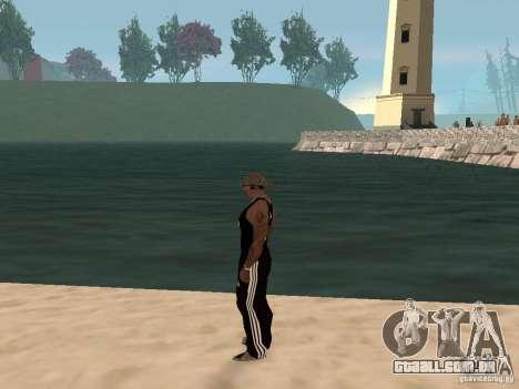 Escolher qualquer clima para GTA San Andreas