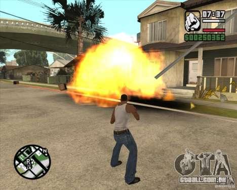 Explosão para GTA San Andreas segunda tela