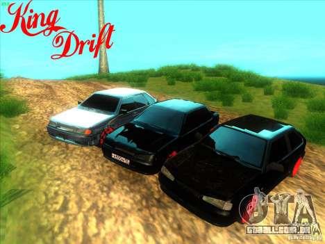 Ваз diabo 2114 estilo para GTA San Andreas vista direita