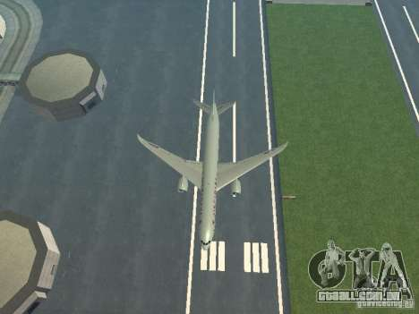 Boeing 787 Dreamliner Air Canada para GTA San Andreas vista superior