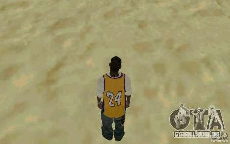 Afro-American HD skin para GTA San Andreas terceira tela