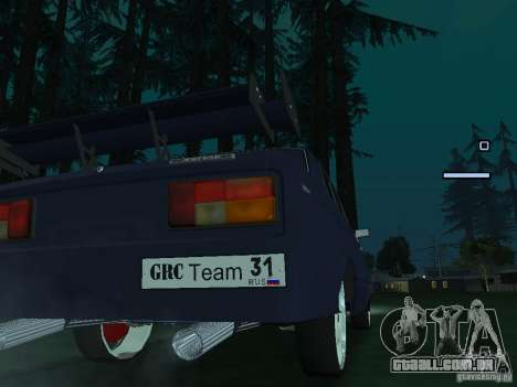 Rei do Drift 2105 VAZ para GTA San Andreas vista direita