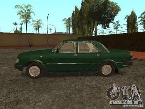 GAZ 3110 v. 2 para GTA San Andreas esquerda vista