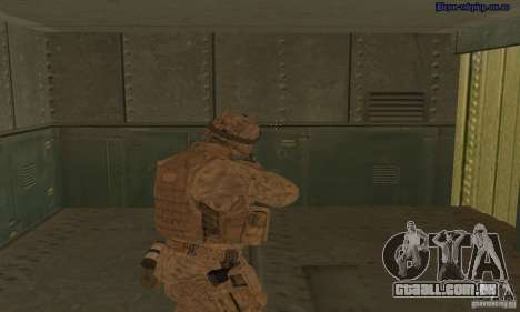 Pele Marine para GTA San Andreas terceira tela