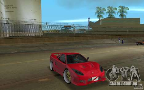 Acura NSX 2004 Veilside para GTA Vice City vista direita