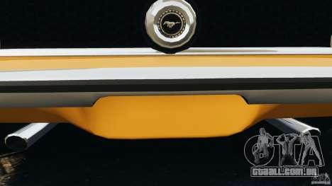 Ford Mustang Mach 1 1973 para GTA 4 motor