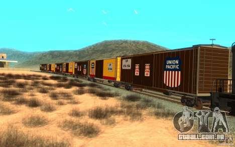 Union Pacific Reefer para GTA San Andreas